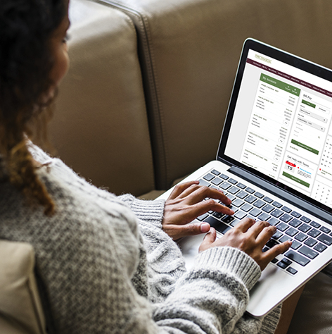 Image supporting Online Banking at Your Fingertips